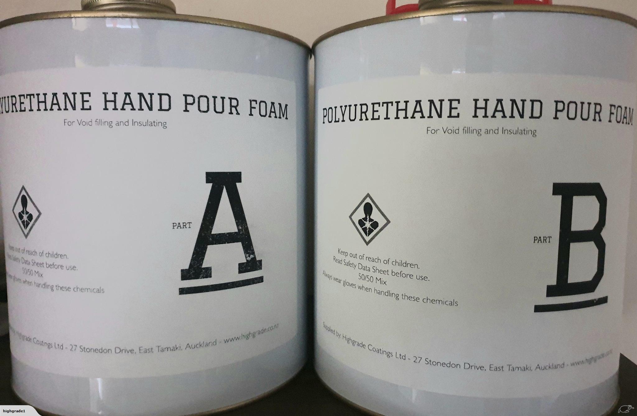 POLYURETHANE HAND POUR KITS 8KG